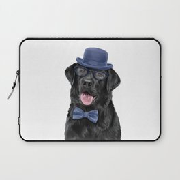 Drawing dog breed Labrador portrait Laptop Sleeve