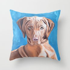Sou the Vizsla Throw Pillow