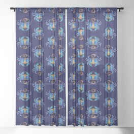 Zodiac - Cancer Sheer Curtain