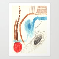 Experimental 3 Art Print