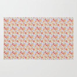 Flower Watercolor Pattern Rug