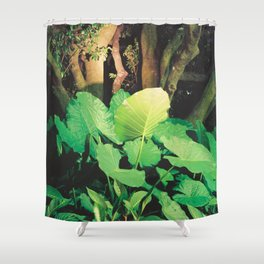 In the Park I Shower Curtain