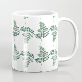 Fern Plant Watercolor Coffee Mug