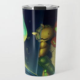 Metroid Travel Mug