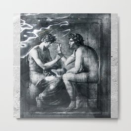 Depicting The Inexplicable Metal Print