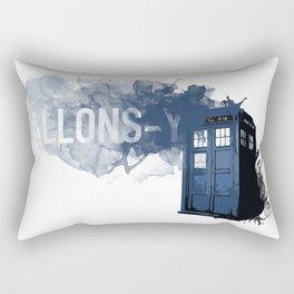 Allons-y Tardis Rectangular Pillow