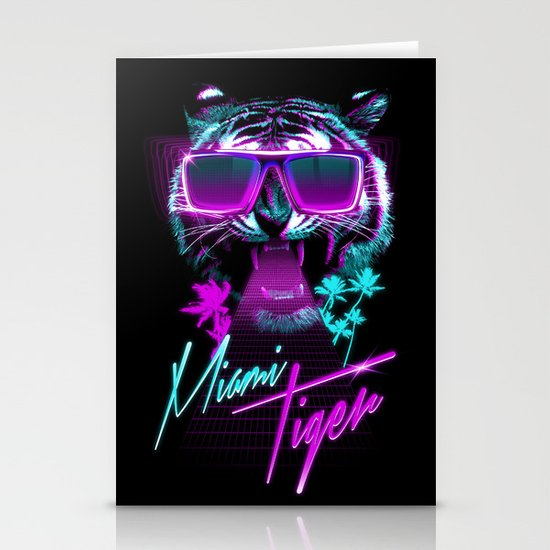 Miami Tiger Stationery Cards