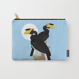 Malabar pied hornbills Carry-All Pouch