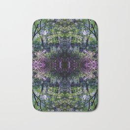Pleasure of the Pathless Woods collage Bath Mat