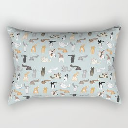 Cat Butts Rectangular Pillow