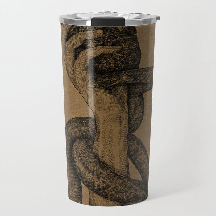 Hearts & Snakes Travel Mug