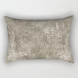 Aluminum Oil Painting Color Accent Rectangular Pillow
