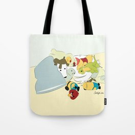 Great Pyrenees - Hide Me From that Puppy! Tote Bag