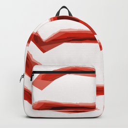 Orange Maze Backpack