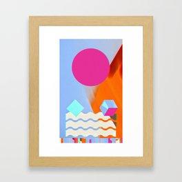 Shaped, #3 Framed Art Print