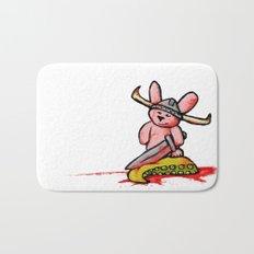 Bunny the Krakenslayer Bath Mat