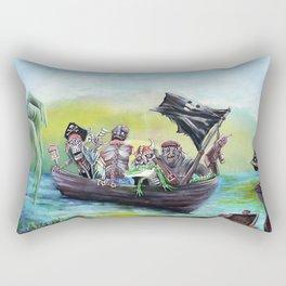 Pirate Booty Beach Rectangular Pillow