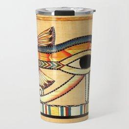 Egypt Nekhbet Eye Horus Travel Mug