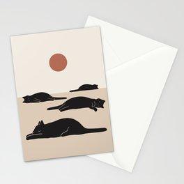 Cat Landscape 69 Stationery Cards