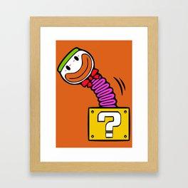 Koopa in the Box Framed Art Print