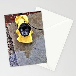 Rainy Day Pug - Newbury Street Stationery Cards