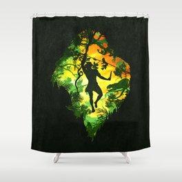Ape Man Shower Curtain