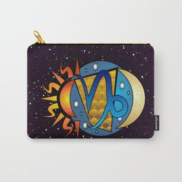 Astrology, Capricorn Carry-All Pouch