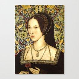 Queen Anne Boleyn Canvas Print