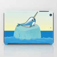 narwhal iPad Cases featuring narwhal by bunnyandbird