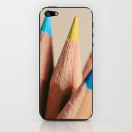 stand out from the crowd iPhone Skin