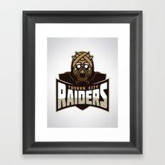 Tusken City Raiders Framed Art Print