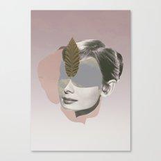 AUDREY HEPBURN - Actr3ss Canvas Print