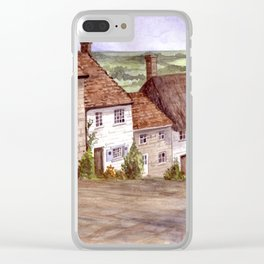 Golden Hill, Shaftesbury Clear iPhone Case