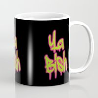 kendrick lamar Mugs featuring Ya Bish  by Poppo Inc.