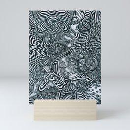 Liquid Skull Mini Art Print