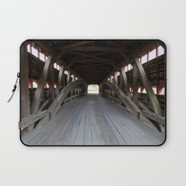 Inside A Covered Bridge Laptop Sleeve