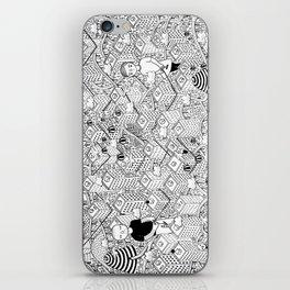 Non posso legarti ma provo a tenerti iPhone Skin