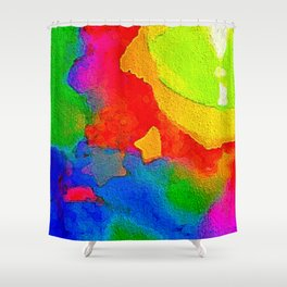 Stars and Candlelight Shower Curtain