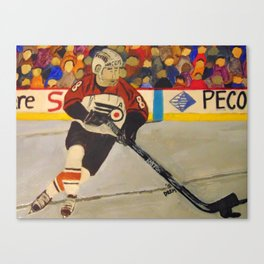 Mark Recchi Painting Canvas Print