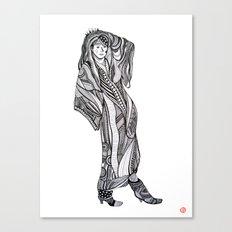 Komakai No.1 Canvas Print