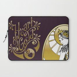 Heart of Gold - wording only Laptop Sleeve