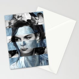 """Picasso """"Woman with a Helmet of Hair"""" & Jane R. Stationery Cards"""