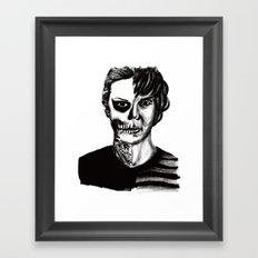 Tate from American Horror Story Framed Art Print