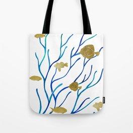 Sea Plants Tote Bag
