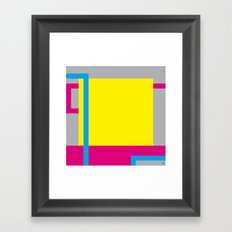P.H. - Yellow Framed Art Print