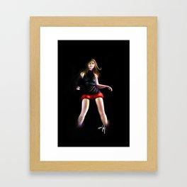 live for Dance Framed Art Print