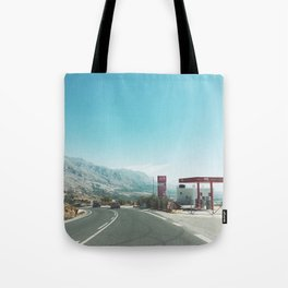 Gas Station Tote Bag