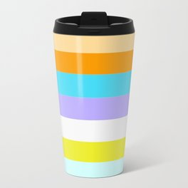 PERFECT ILLUSION BACKGROUND (aka NEW GAY FLAG ) Travel Mug