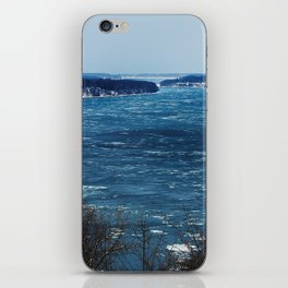Endless Blue iPhone Skin