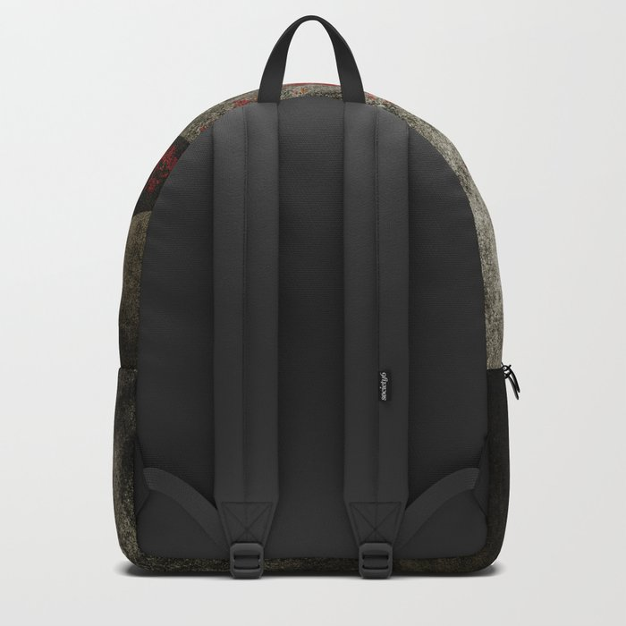 Red autumn. Backpack
